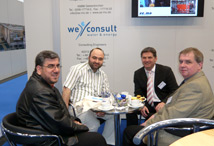 WE-Consult on IFAT 2008 – A Full Success